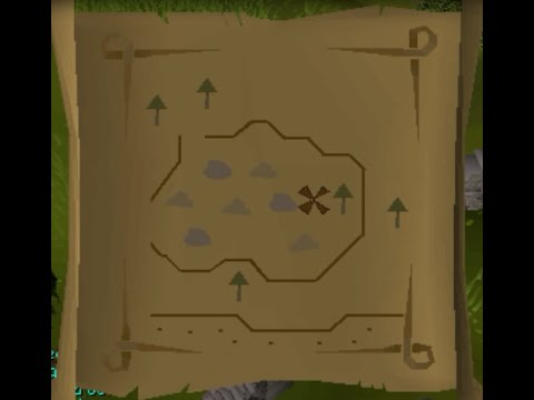 Easy Clue Scroll Maps Runescape 2007   Clue Scroll Guides   Map #16   YouTube