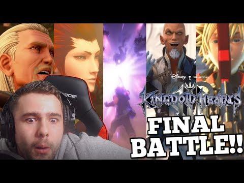 Kingdom Hearts 3 Has Gone Completely Wild!! | KH3 Final Battle Trailer Reaction