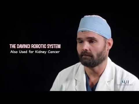 The Da vinci Robotic System, Also Used for Kidney Cancer  Dr Evan Fynes
