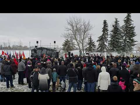 Chestermere Remembrance Day Ceremonies Featuring the Chestermere High School Band