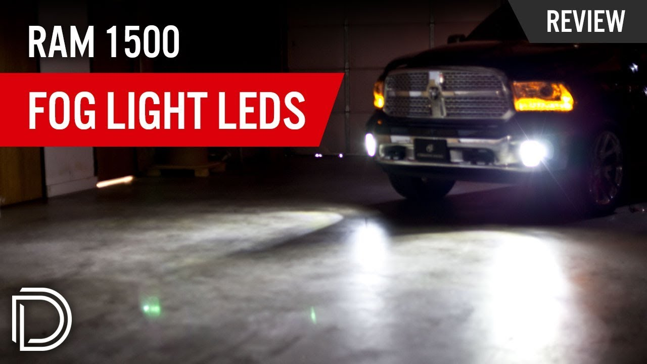 Ram 1500 Fog Light Leds Youtube