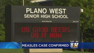 Plano ISD Parents & Students Watching For Measles Symptoms