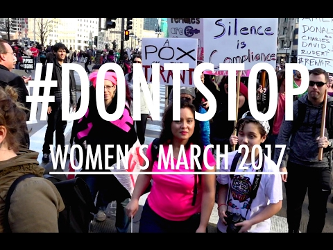 #DONTSTOP // #WomensMarch2017 \\