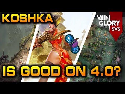 VAINGLORY 4.0 - Koshka Jungle OP? | Vainglory Steam Release