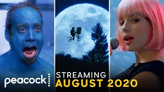 Streaming on Peacock this August