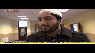 Sky News on the 20/11/2015 Paris Attacks Prayer Service at Baitul Futuh Mosque London