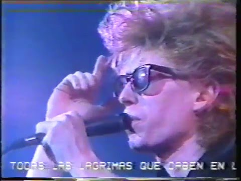 The Psychedelic Furs Live La Edad Doro Spanish TV