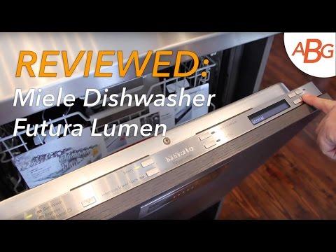 Miele Dishwasher Review Futura Lumen G6565scvi Modern Kitchen Integrated