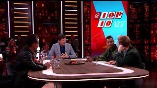 Voor het eerst in jaren 3 Nederlandse nummers bovenaan in Top 40 - RTL LATE NIGHT MET TWAN HUYS