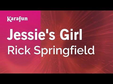 Karaoke Jessie's Girl - Rick Springfield *