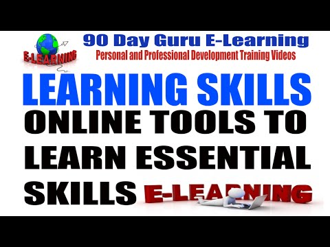 Learning Skills:Online Tools To Learn Essential Skills