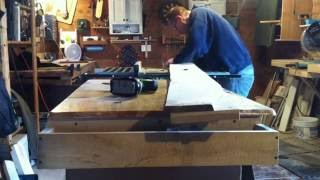 Tablesaw   Edge Jointing Using A Jig