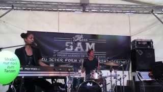 Miss Sam Agentur live beim Jazz Sommer Berlin 2013 - Astrid NORTH -4