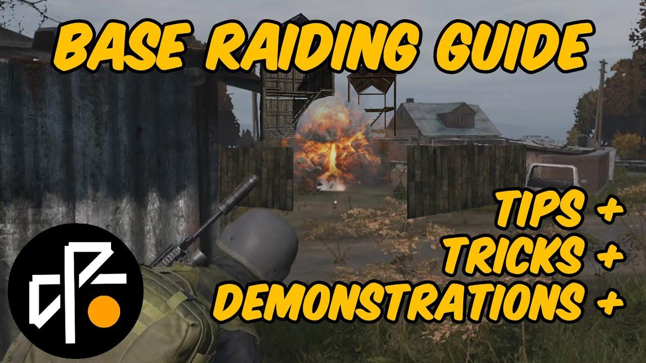 Basic Base Raiding for Dummies [Dayz]