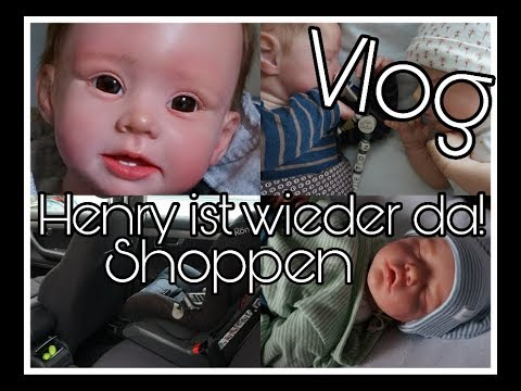 vlog henry ist wieder da shoppen mit twin b reborn baby deutsch youtube. Black Bedroom Furniture Sets. Home Design Ideas