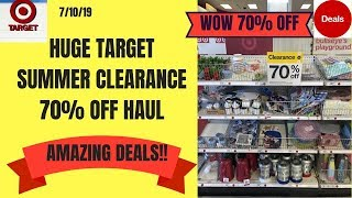 Huge Target 70% Off Summer Clearance Haul~amazing Finds For A Fraction Of The Cost~target Clearance!