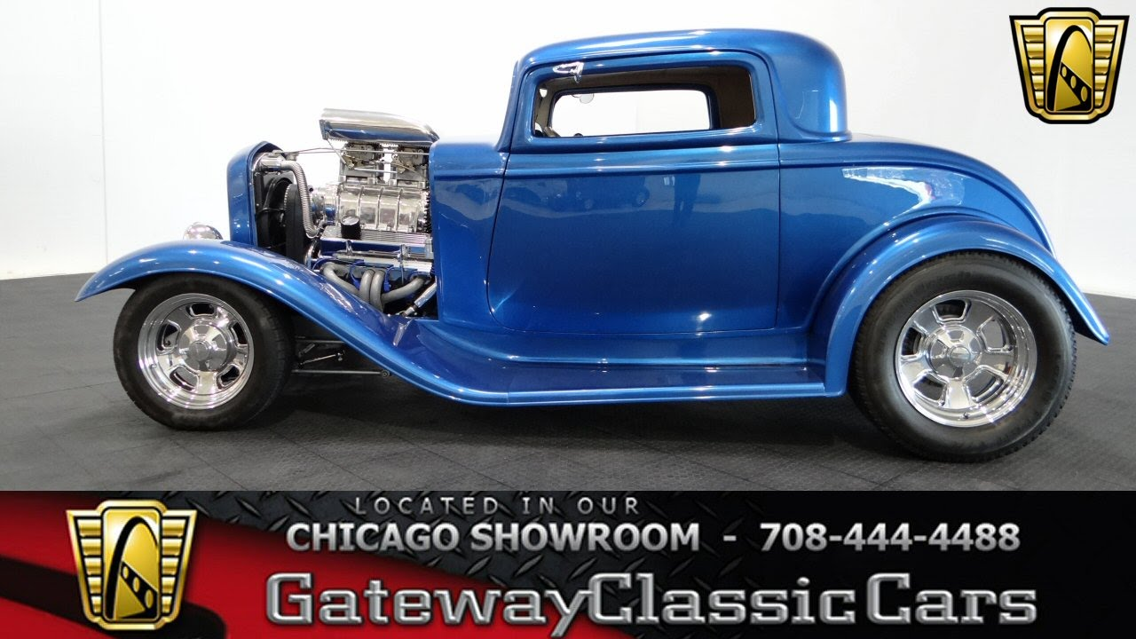 1932 Ford 3 Window Coupe Gateway Classic Cars Chicago #1020 - YouTube