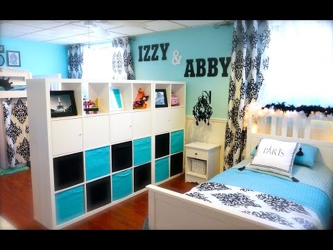 Decorating Tips- Decorating My Girls Shared Room On A