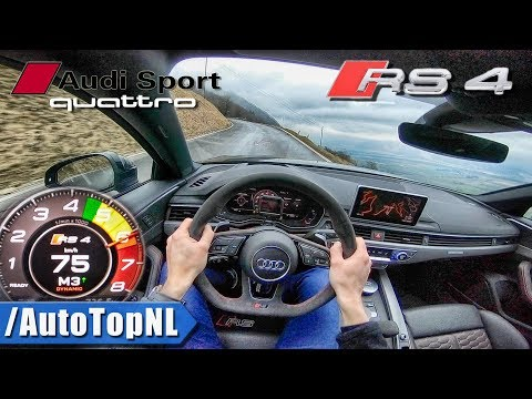 2018 Audi RS4 Avant POV Test Drive HILLCLIMB by AutoTopNL