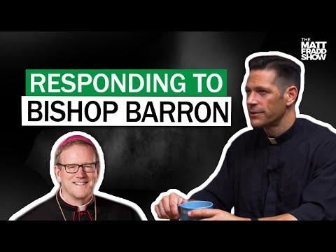 In Defense of Bishop Robert Barron W/ Fr. Mike Schmitz