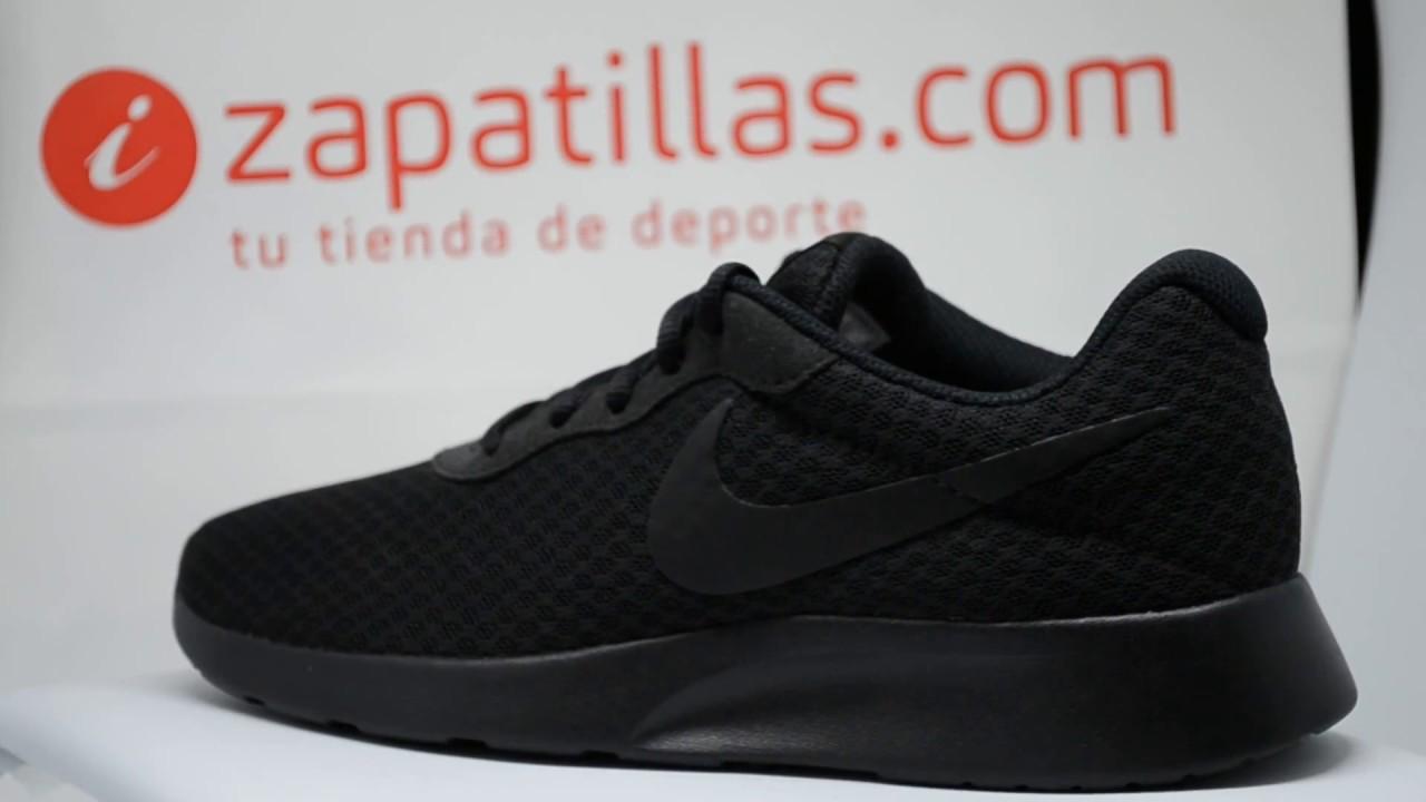 Tienda Zapatilla Nike Tanjun Negras Valencia 53,64€