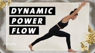 Yoga Ganzkörper Flow | Dynamisch & Kraftvoll | 30 Min. Yoga Workout Mittelstufe | Dynamic Power Flow