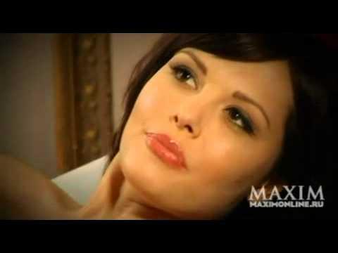 Видеоверсия фотосессии Марии Горбань для журнала MAXIM