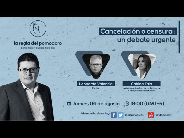 Cancelación o censura: un debate urgente