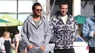 scott disick and french montana take their bromance to lunch