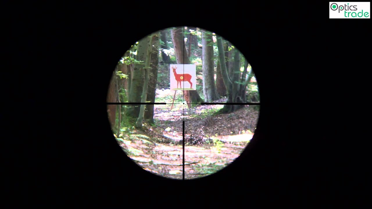 Hawke endurance  reticle l a dot subtensions youtube