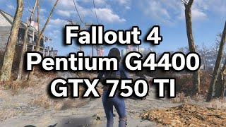 Fallout 4 - 350 Gaming PC - Pentium G4400 - GTX 750 TI