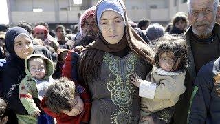 Сирийцы массово бегут из Восточной Гуты