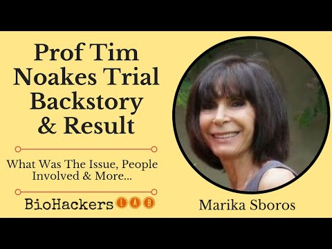 Marika Sboros Interview - Prof Tim Noakes HPCSA Hearing Summary