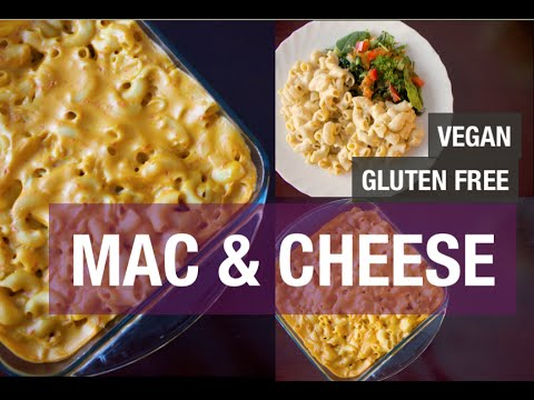 VEGAN RECIPE FOR MAC AND CHEESE | HOW TO GO GLUTEN FREE - YouTube