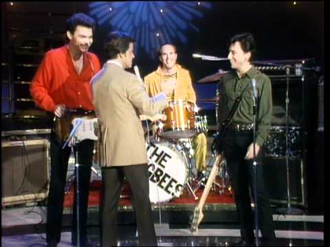 Dick Clark Interviews The Kingbees - American Bandstand 1981