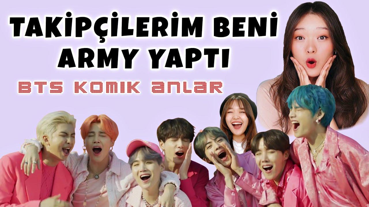 BTS KOMİK ANLAR   Türkçe Edit   Gülmek garanti😂