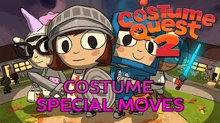 Costume Quest 2 -  All Costume Special Moves
