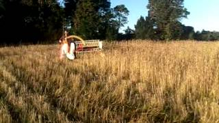 Kaier Agricultural Machinery-Mini combine harvester-4L-0.5