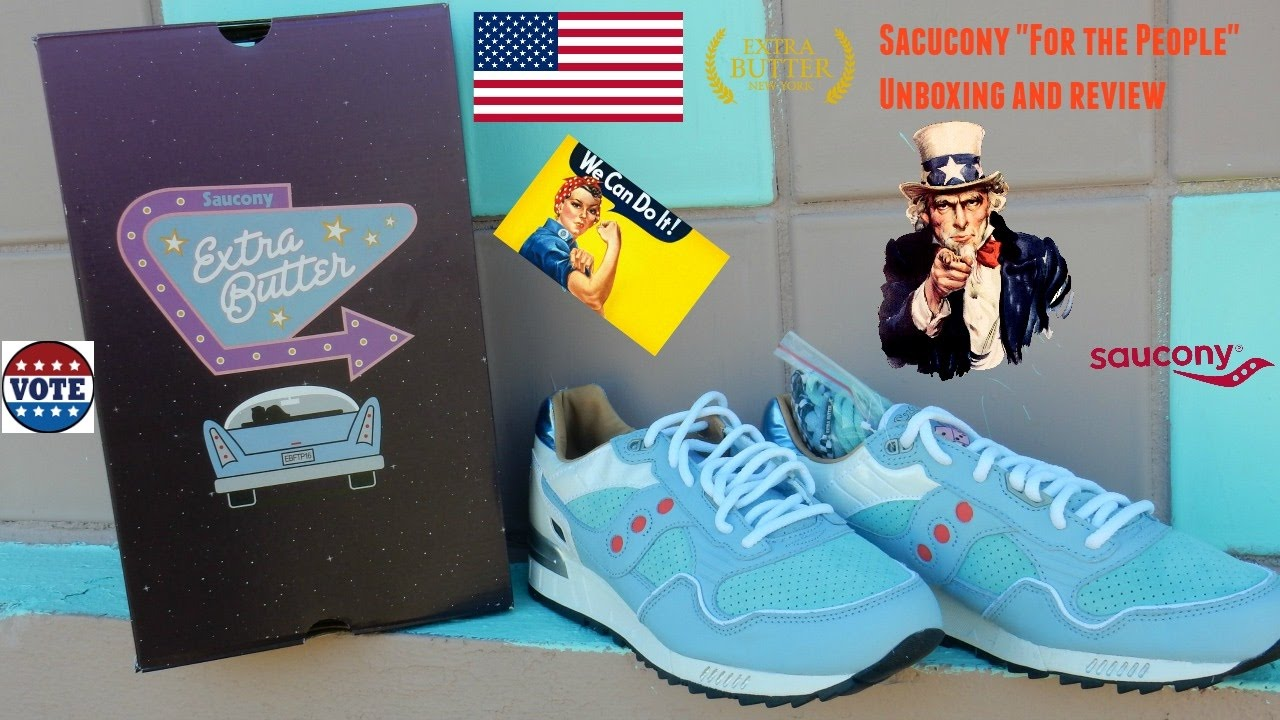 News Extra Butter X Saucony Shadow 5000 'For The People'