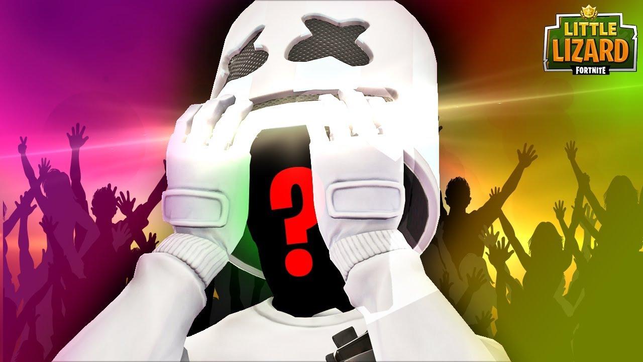 MARSHMELLO *FACE REVEAL* in Fortnite! #1