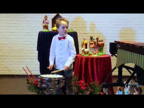 """Little Drummer Boy"" for Snare Drum and Marimba by Holger Schreiber"