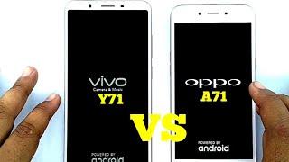 VIVO Y71 vs OPPO A71 speed test comparison