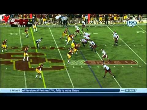 George Uko (DT, USC) vs Washington State 2013
