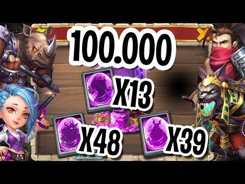 100000 НА НОВЫХ ГЕРОЕВ! 101 КАРТА ГЕРОЯ! ОБЛИК ДРАКОНА! БИТВА ЗАМКОВ / CASTLE CLASH #460