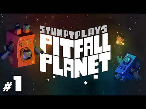 Pitfall Planet - #1 - Throw Your Buddy! (Co-op Gameplay)