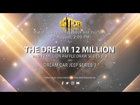 LIVE Draw of The Dream 12 Million Series 218 and Jeep Series 3