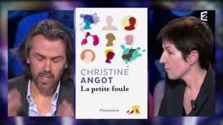 Christine Angot 22 mars 2014 On n'est pas couché #ONPC