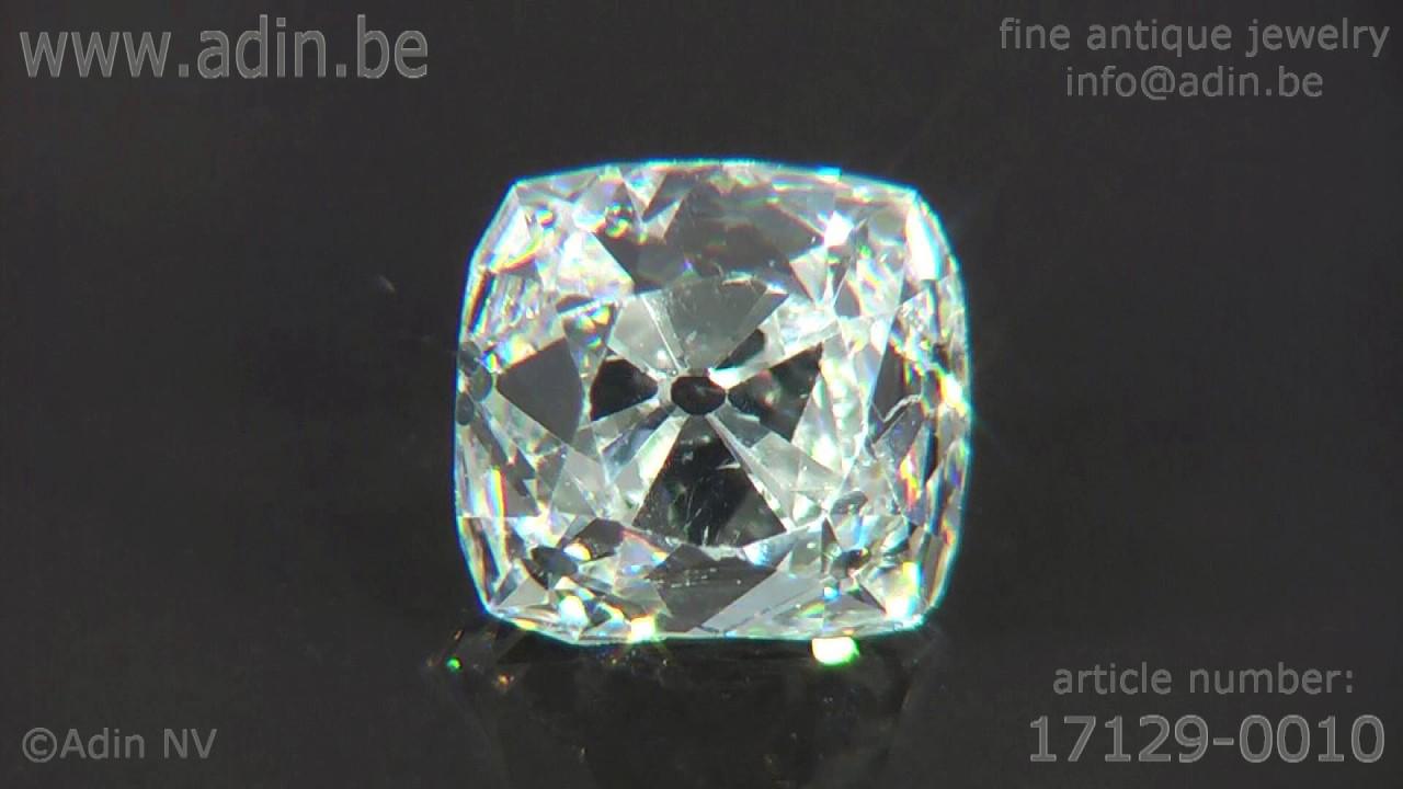 Peruzzi cut diamond - one of the first models of brilliant