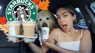 Starbucks New FALL Drinks & Treats are here!! 2020