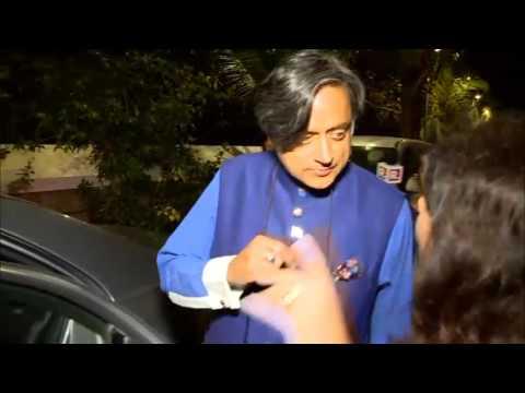 Shashi Tharoor evades Republic TV's questions
